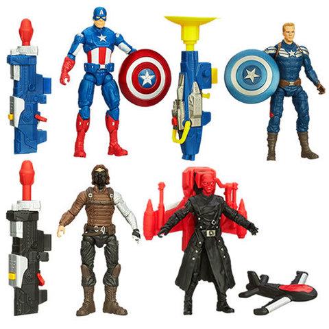 Captain America Super Soldier Gear Figures Series 01