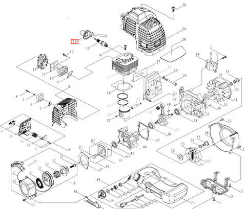 Катушка зажигания для лодочного мотора T3,5 Sea-PRO