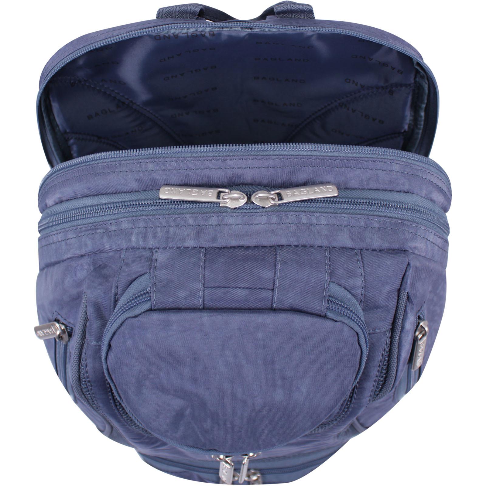 Рюкзак Bagland Объемный 35 л. Темно серый (0014670) фото 7