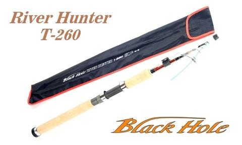 Спиннинг телескопический Black Hole River Hunter 2.60м, 10-45г, RHS-868MH