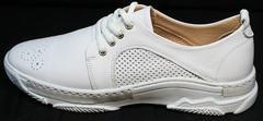 Туфли сникерсы женские Derem 18-104-04 All White