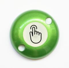 ART-ZN-Exit-Sensor Сенсорная кнопка выхода двухпроводная (зеленая) АртСистемы