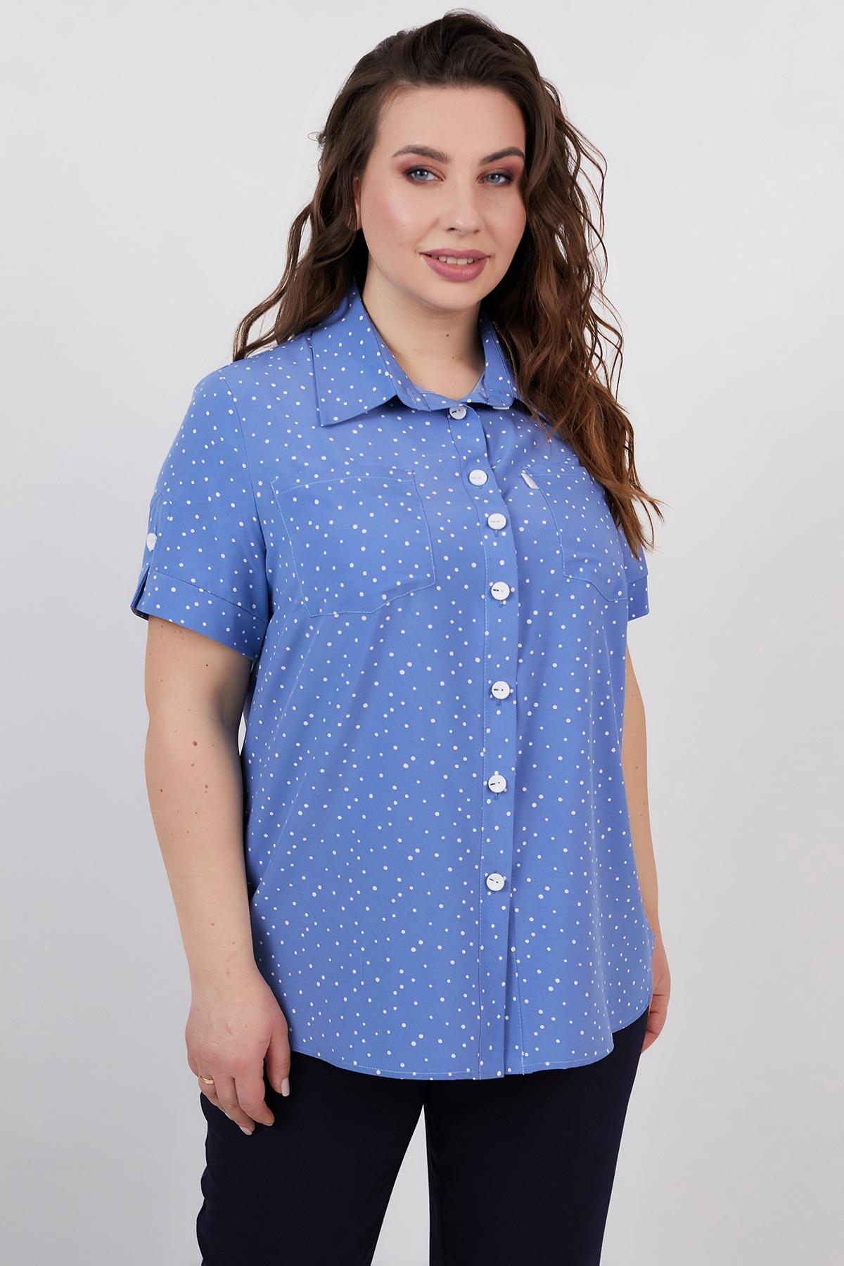 Рубашка Микелла (джинс)