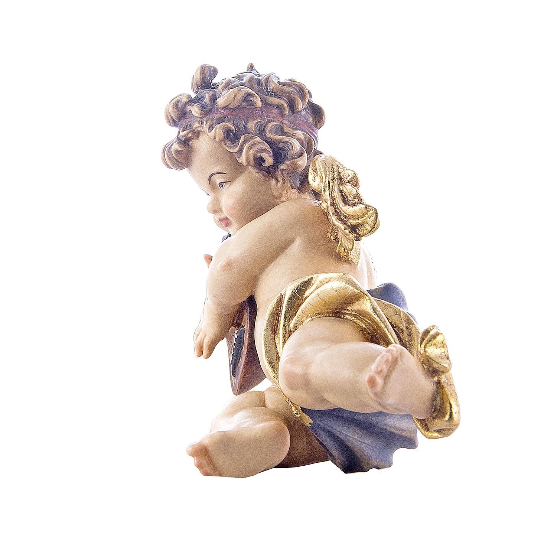 Ангел Леонардо с мандолиной