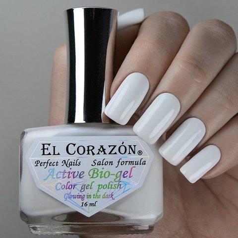 El Corazon 423/1141 active Bio-gel /Luminous Белый