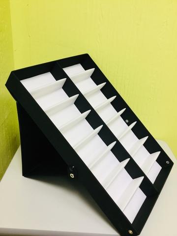 Паллет для очков ( 8х2 с черной крышкой)