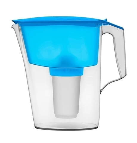 Фильтр-кувшин Аквафор 2,5л Ультра,голубой,пластик
