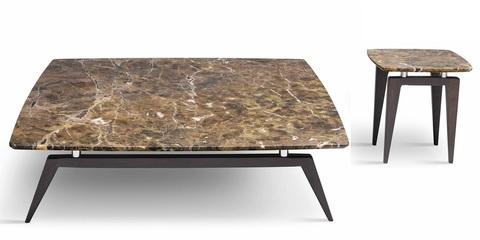 Приставной столик из мрамора, Италия