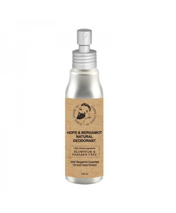Дезодорант спрей CHEMICAL BARBERS Natural Body Deodorant хмель и бергамот 100 мл
