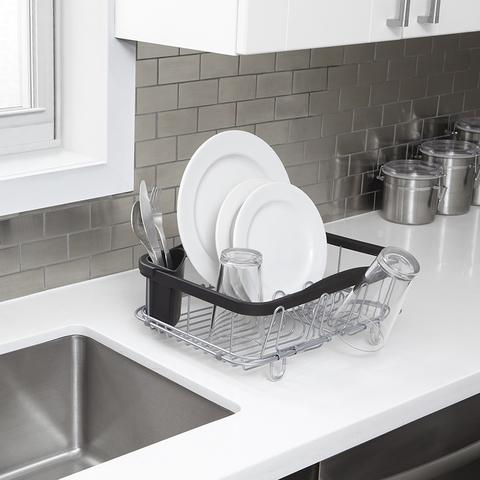 Сушилка для посуды SINKIN чёрный-никель
