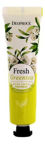DEOPROCE Крем для рук парфюмированный зеленый чай