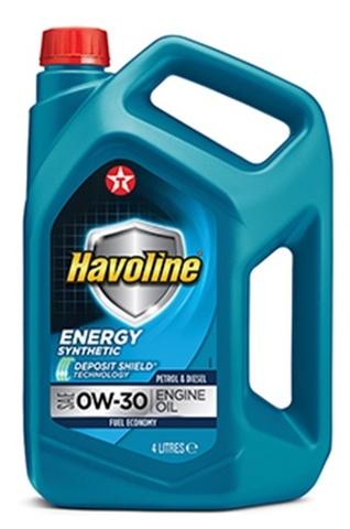 HAVOLINE ENERGY 0W-30 моторное масло TEXACO 4 литра