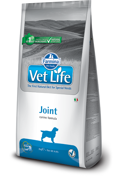 Сухой корм Корм для собак, FARMINA Vet Life Joint, при заболеваниях опорно-двигательного аппарата farmina-vet-life-canine-joint_web.png