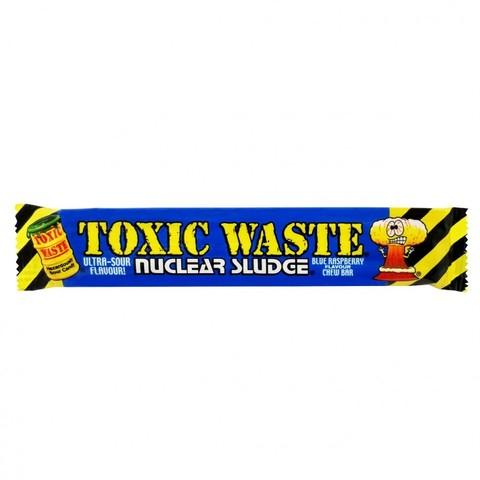 Жевательная конфета Toxic Waste Nuclear Sludge Sour Blue Raspberry