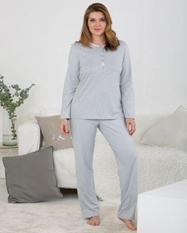 Пижама женская со штанами из органического хлопка Massana MP_711280