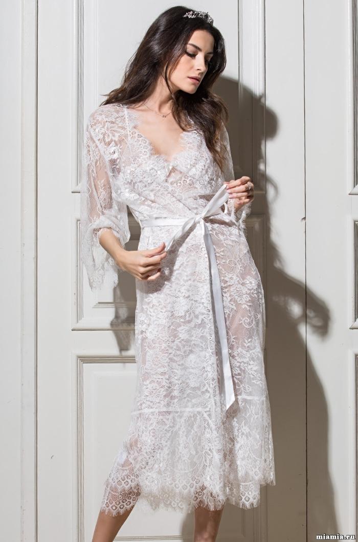 Эротическое белье Халат женский из кружева MIA-MIA  Шанель  2033 2033.3.jpg
