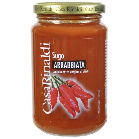 Соус Casa Rinaldi томатный Аррабьята пикантный 350г