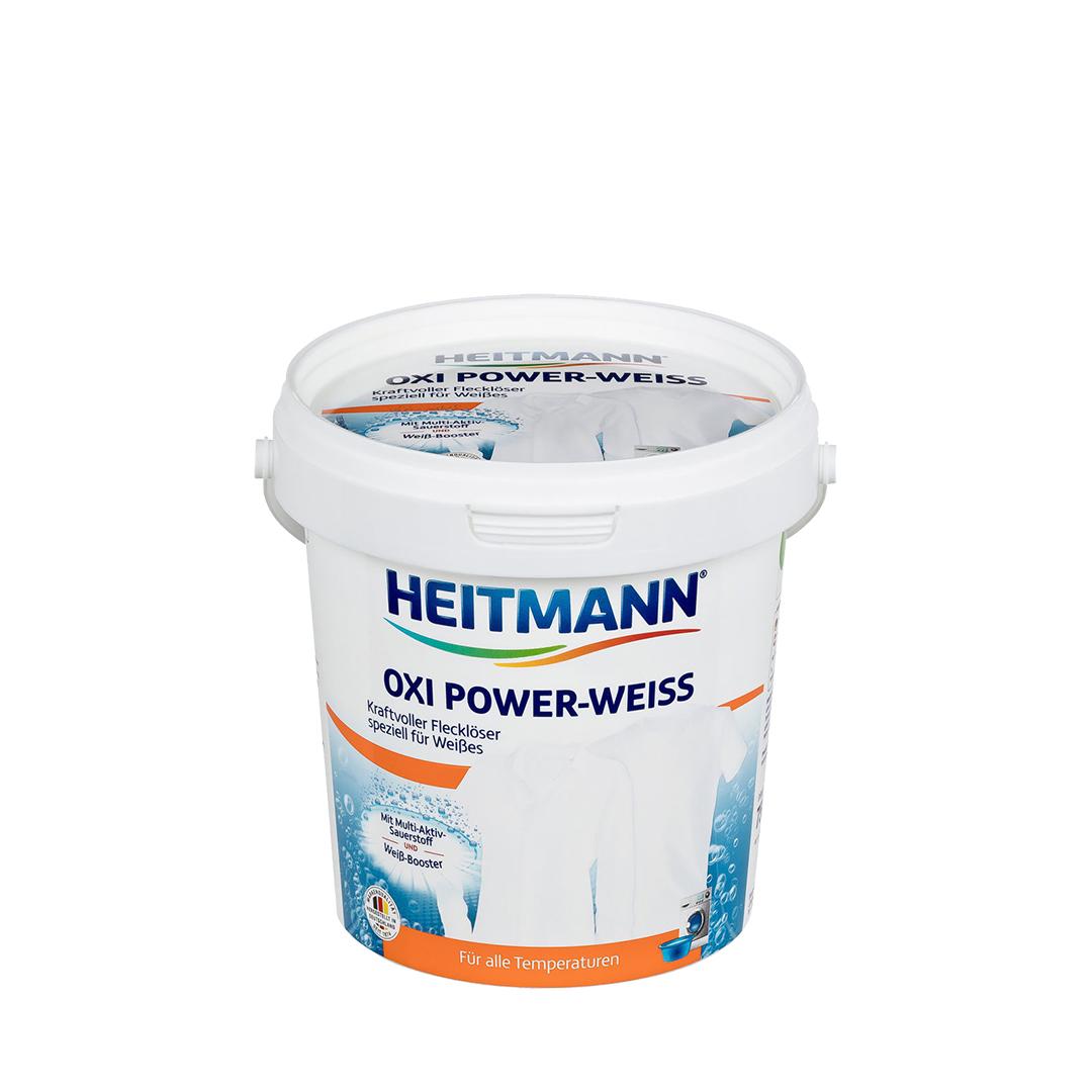 Heitmann Oxi Power-Weiss Мощный пятновыводитель на кислородной основе для белого белья 750 гр.