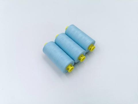 Нитки, Gutermann, MARA-120, светло-голубые, 1000 м, шт