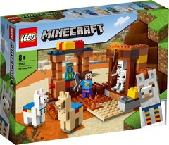 Lego konstruktor Minecraft The Trading Post