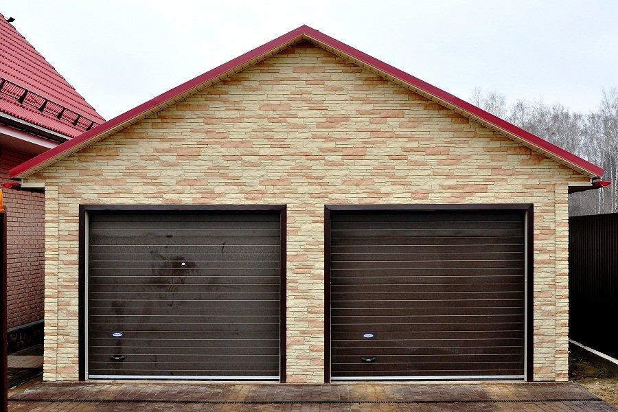 Каркас ЛСТК гаража на 2 машины 2МД