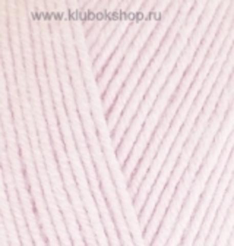 Пряжа Baby BEST Alize Розовая пудра 184
