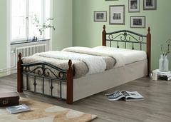 Кровать Мабел 200x160 (Mabel MK-5225-RO) Темная вишня