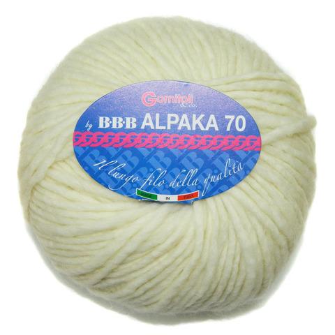 Купить Пряжа BBB Alpaka 70 Код цвета 01 | Интернет-магазин пряжи «Пряха»