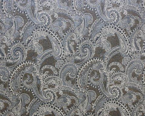 Портьерная ткань жаккард Стамбул голубой
