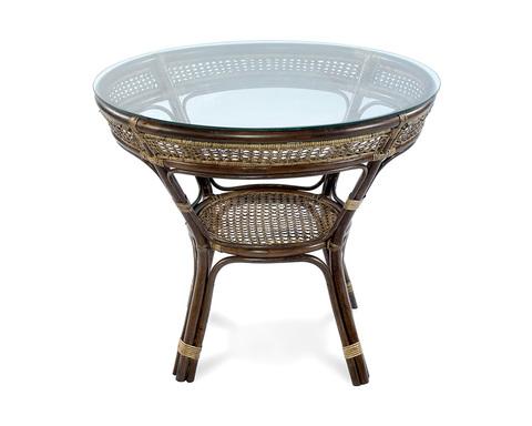 Стол обеденный из ротанга Java