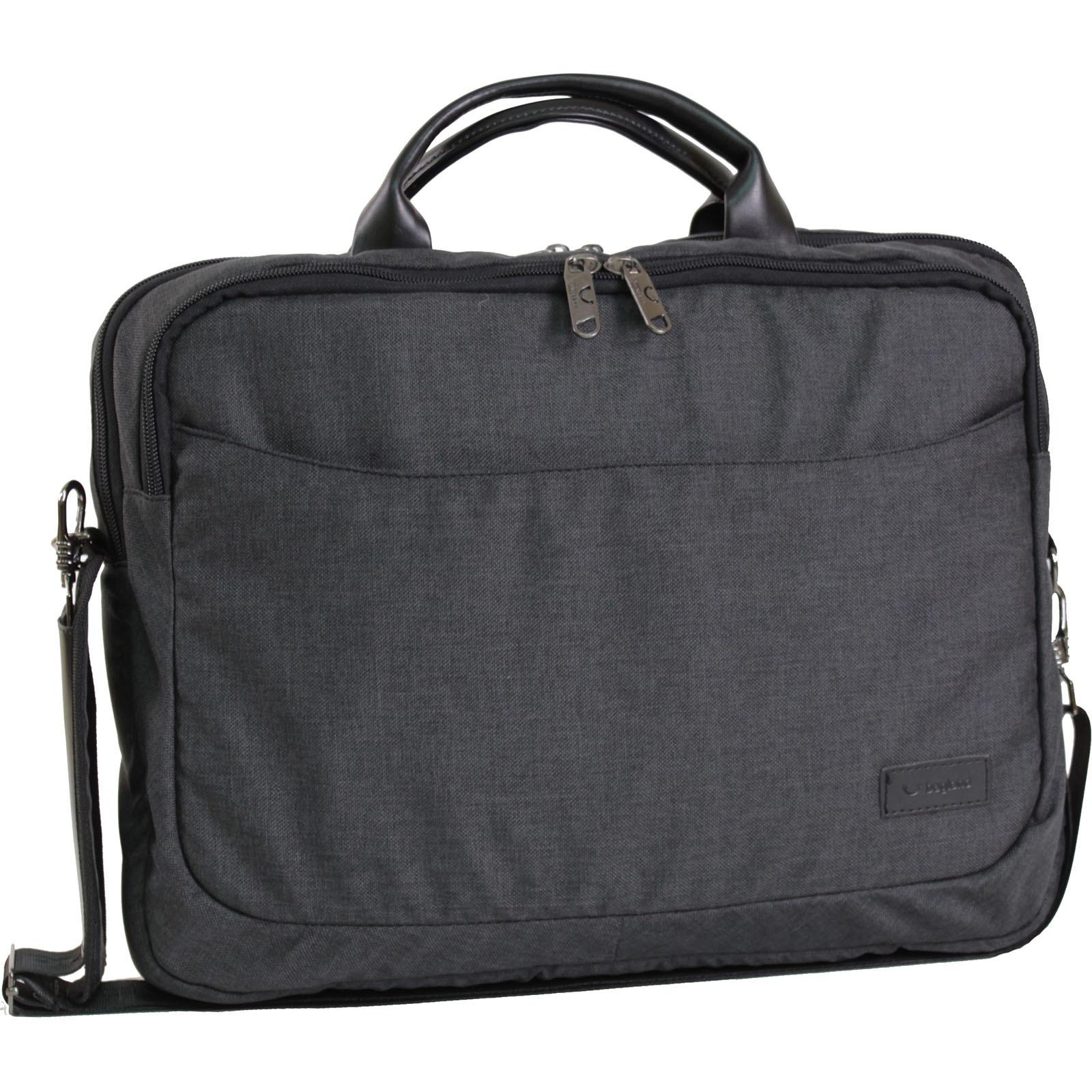 Сумки для ноутбука Сумка для ноутбука Bagland Fremont 11 л. Чёрный (0042769) IMG_0826.JPG
