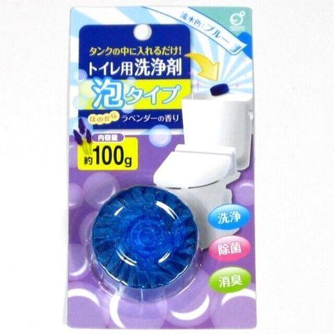 Таблетка для сливного бачка Okazaki пенящаяся с ароматом цветов 100 гр