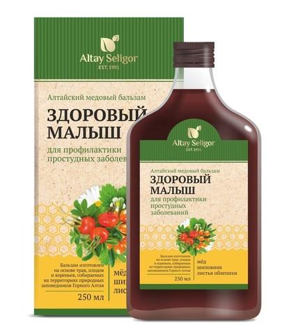 Алтайский медовый бальзам  Здоровый малыш фото1