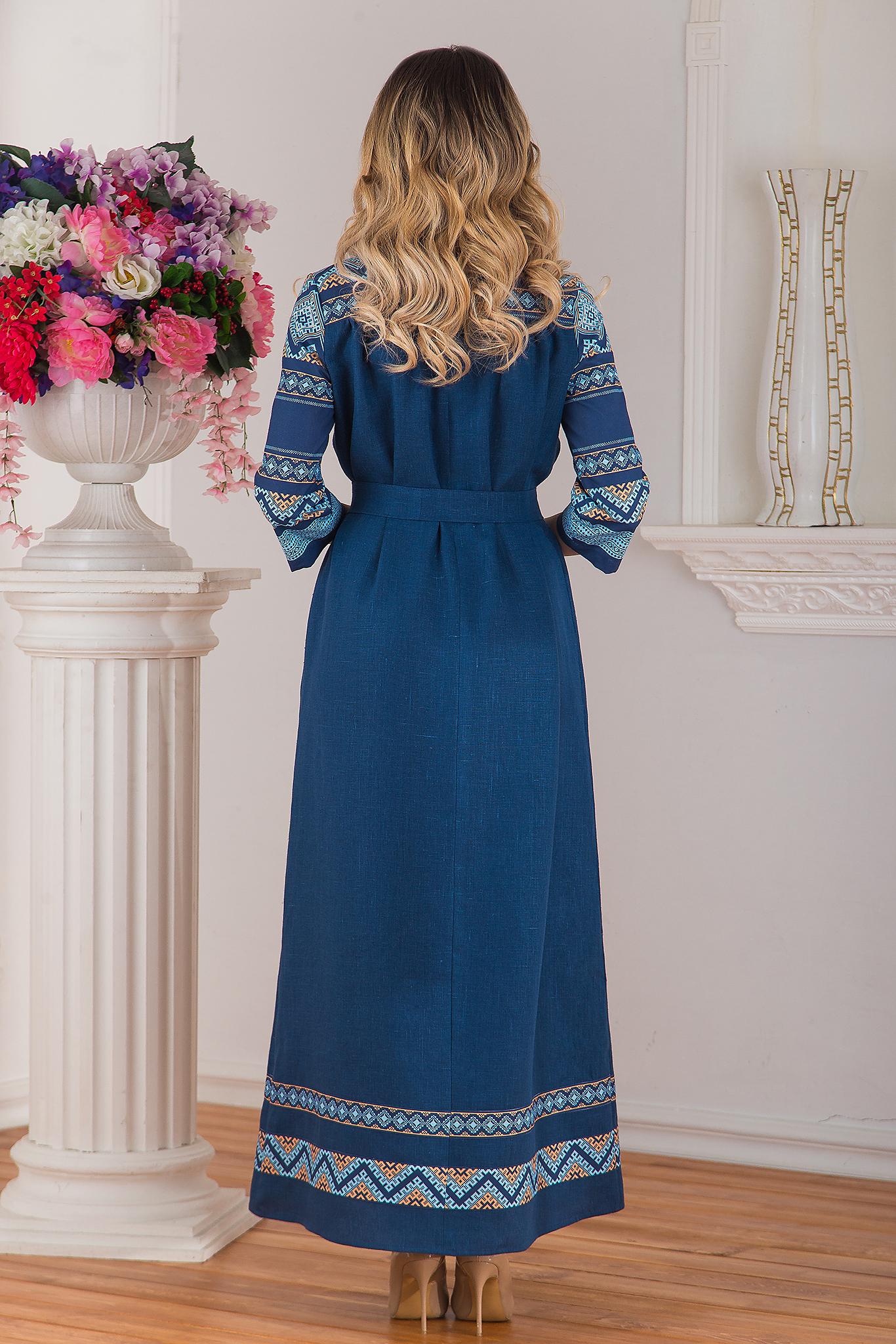 Славянское платье Каспийское