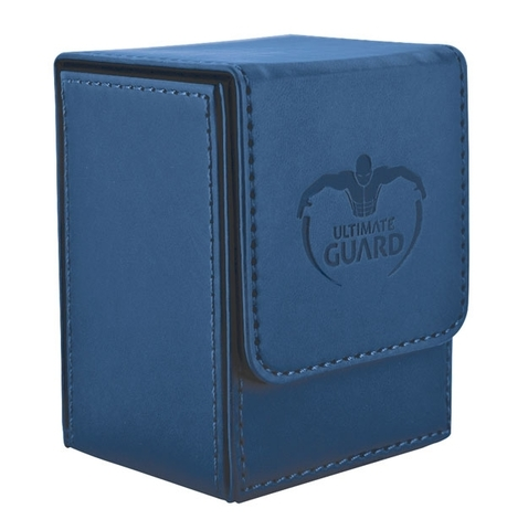 Flip Deck Case 80+ Standard Size Dark Blue