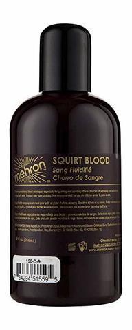 MEHRON Искусственная кровь для брызг Squirt Blood- Dark Venous 9 oz. (темная венозная), 266 мл
