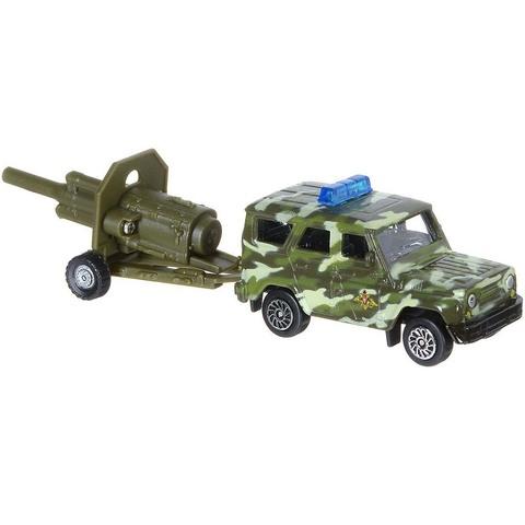 Технопарк Военная техника Внедорожник с артиллерийской установкой 7,5 см