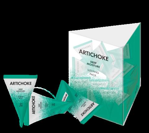 АРТИШОК НАБОР Маска для лица Artichoke Deep Moisture Sleeping Pack, 20 шт * 5гр