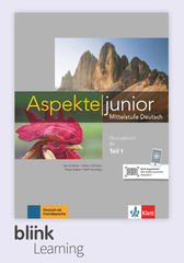 Aspekte junior B2.1, Übungsbuch DA fuer Unterri...