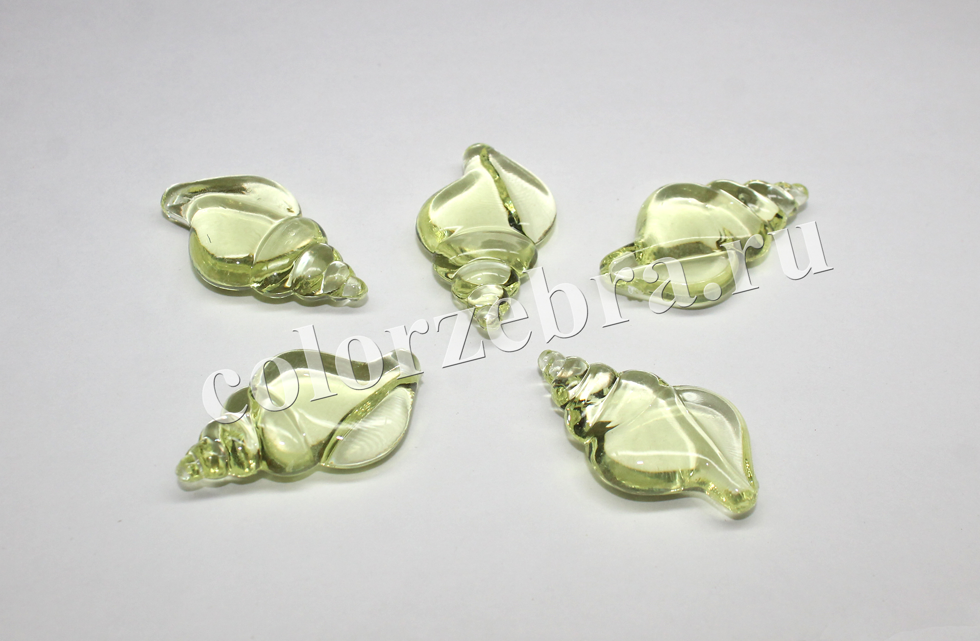 Декоративные ракушки пластиковые