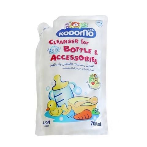 Жидкость для мытья детских бутылочек и сосок Kodomo (мягкая упаковка)