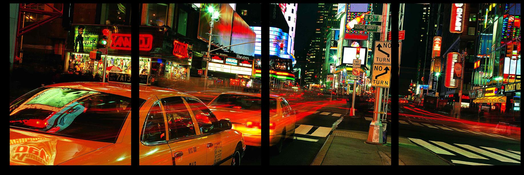 """Города Модульная картина """"Нью-Йорк"""" М427.png"""