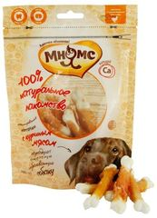 Лакомство для собак Мнямс кальцинированные косточки с куриным мясом