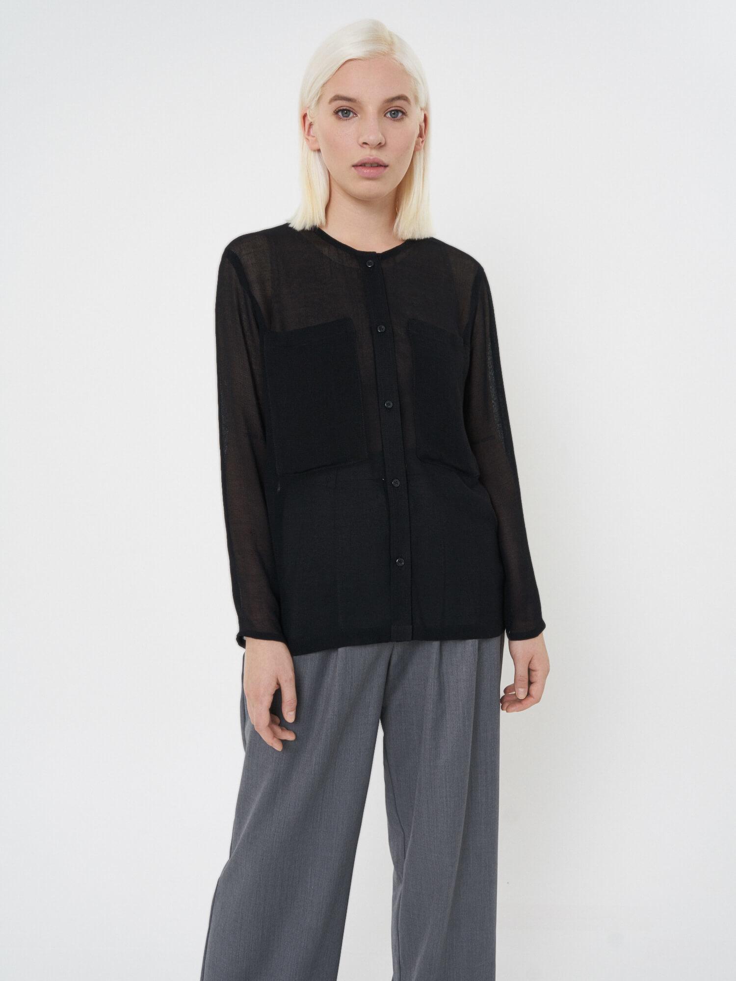 Рубашка Miriam без воротника