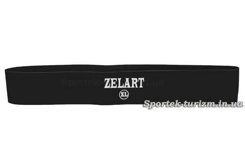Резинки для фитнеса ZELART BANDS черная (XL - Жесткая)