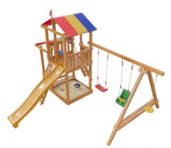 Детская деревянная игровая площадка Кирибати