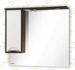 Зеркало-шкаф SanMaria Венеция-100 белый левый