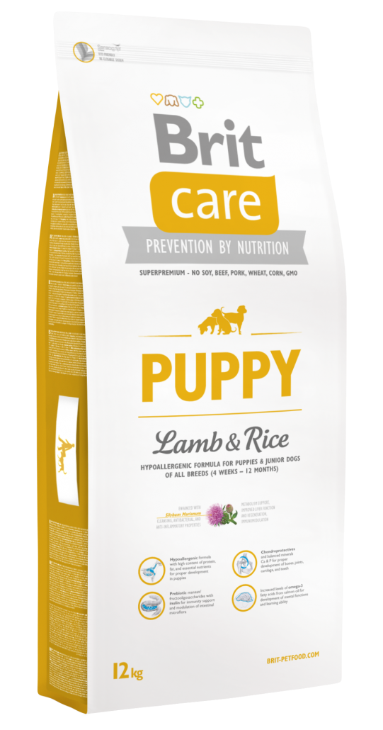 Brit Корм для щенков всех пород, Brit Care Puppy  All Breed, ягненком и рисом Brit-Care-Puppy-Lamb-and-Rice-12kg.png