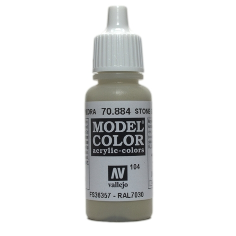 Model Color Stone Grey 17 ml.