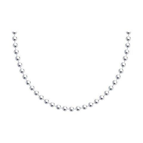 94074628 - Цепь-колье из серебра из крупных шариков